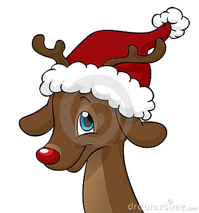 Renne Di Babbo Natale Nomi.La Storia Di Rudolph La Renna Dal Naso Rosso