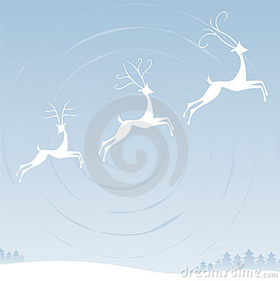 Reindeer in the Sky