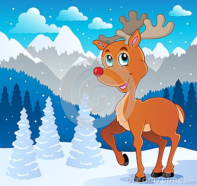 Reindeer theme image 4