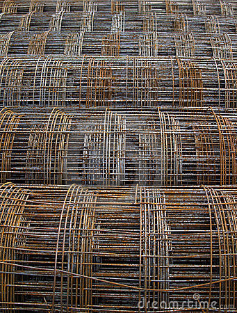 Free Reinforcement Wire Mesh Royalty Free Stock Photography - 13538147