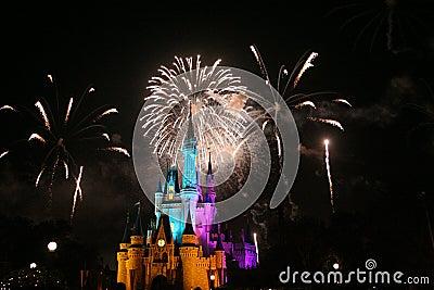 Reino mágico Foto de archivo editorial