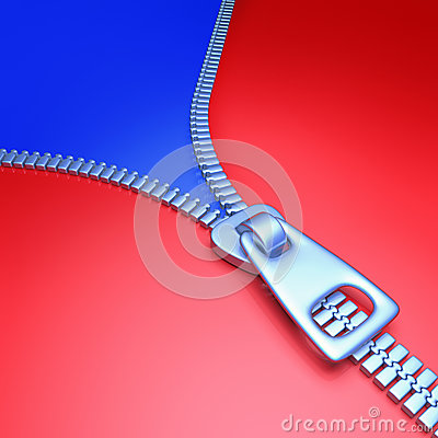 Reißverschluss-Farbe