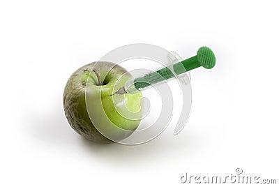 Rejuvenated apple white