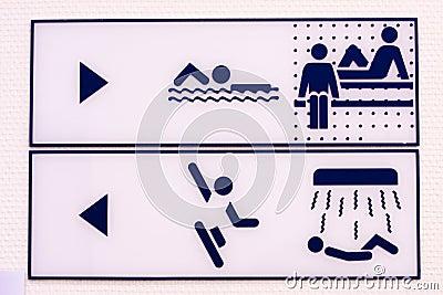 Rekreacyjni symbole