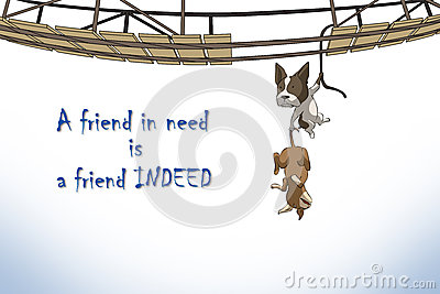 Relationship of friends