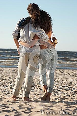 Relationships on background of ocean