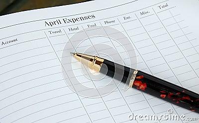 Relatório da despesa