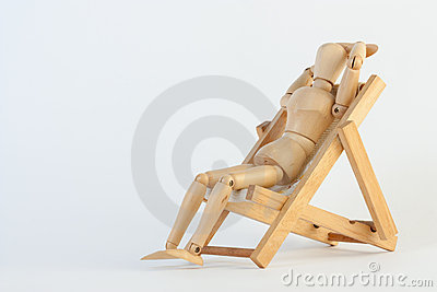Relax with the beach chair
