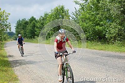 Relax biking