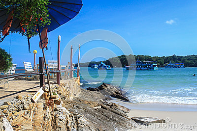 Relax Corner on the beach