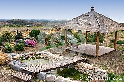 Relax garden