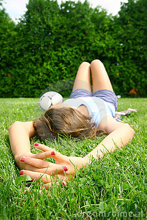 Relax in grass