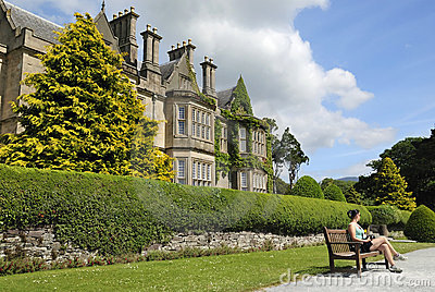 Relax in Irish park