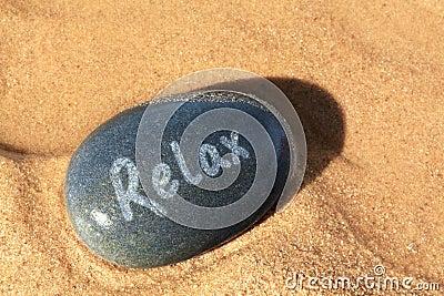 Relax pebble beach