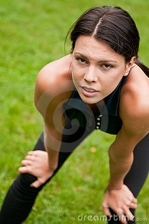 Free Relax - Tired Woman After Sport Royalty Free Stock Photos - 16145338