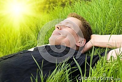 Relax under summer sun