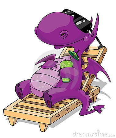 Free Relaxation Dragon Royalty Free Stock Photography - 15302337