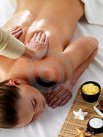 Relaxation and joy in massage