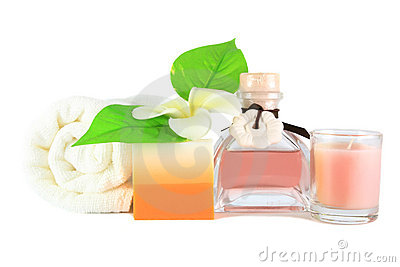 Relaxation spa set