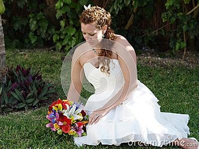 Relaxe bride.