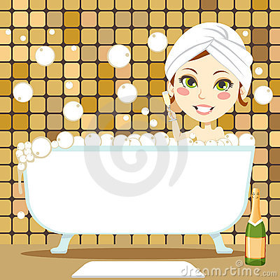 Relaxing Bubble Bath