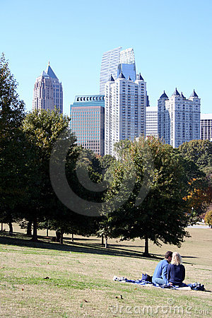 Free Relaxing In The Park Royalty Free Stock Photography - 1795177