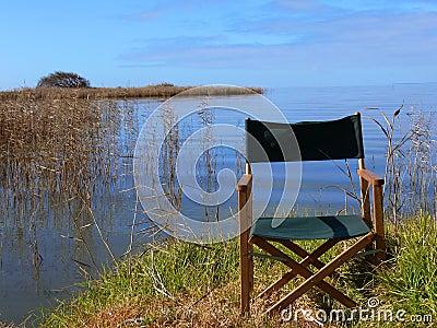 Relaxing lakeside