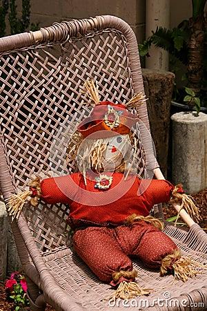 Relaxing Scarecrow