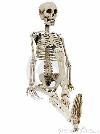 Relaxing Skeleton