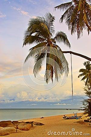 Relaxing Sunset Beach