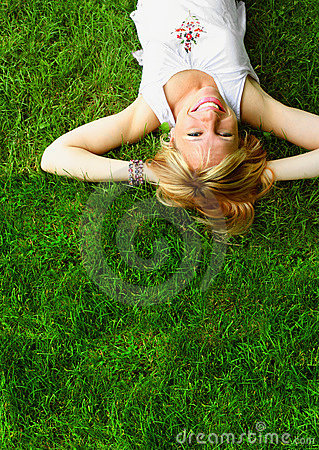 Free Relaxing Woman Stock Image - 12268601