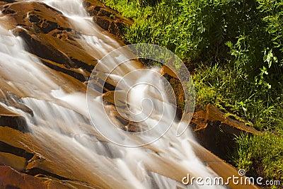Relay Peak Waterfall