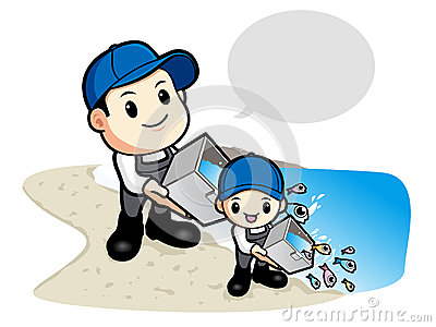 Release the Young Fish to the Father and the Son. Work and Job C