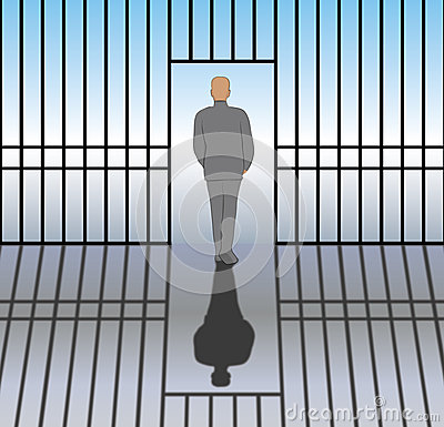 Free Released From Prison Royalty Free Stock Photo - 50738475