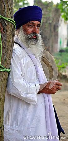 Relegious sikh sant Editorial Image
