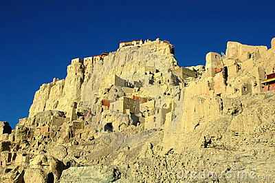 Relics of an Ancient Tibetan Castle