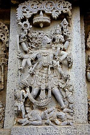 Relief of Varaha,Halebid,India