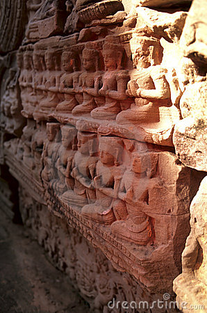 Reliefs- Angkor Wat, Cambodia