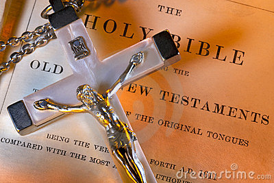 Religion - Crucifix - Holy Bible