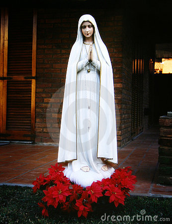 Religion, image of Mary virgin