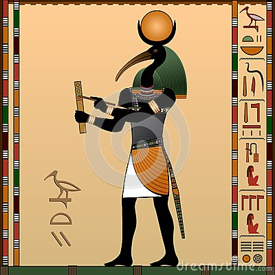 Free Religion Of Ancient Egypt. Stock Photo - 47374810
