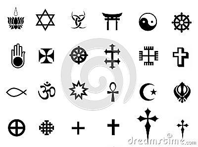 Religions symbols