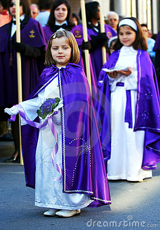 Religious children Editorial Photography