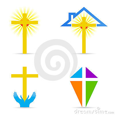 Religious cross design