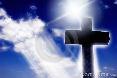 Religious cross in Light