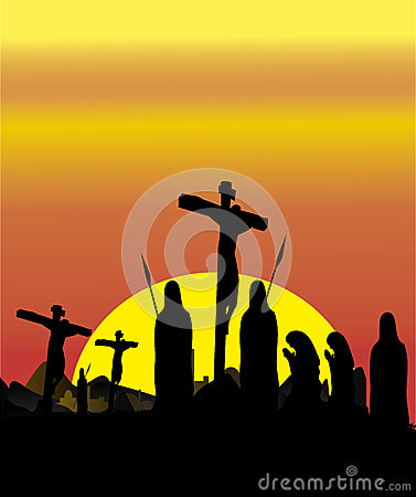 Free Religious Crucifixion Royalty Free Stock Photos - 36667358