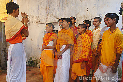Religious Education in India Editorial Stock Image
