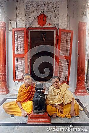 Religious Education in India Editorial Stock Photo