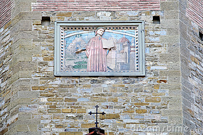 Religious Fresco Wall Decoration Royalty Free Stock Image - Image: 11467816