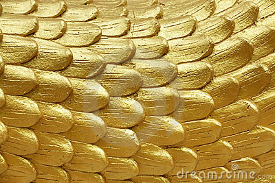 Religious golden scales